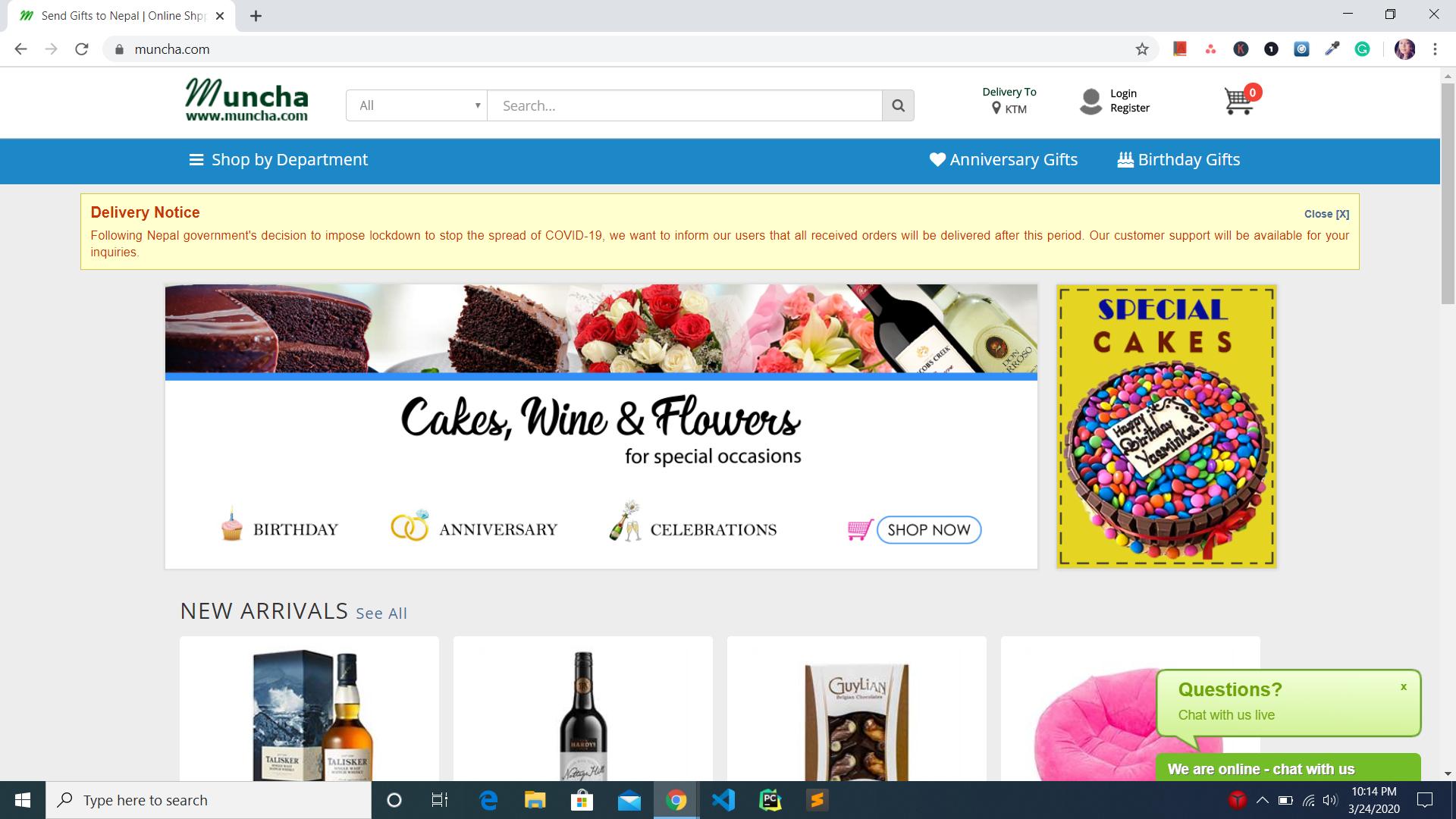 muncha online site