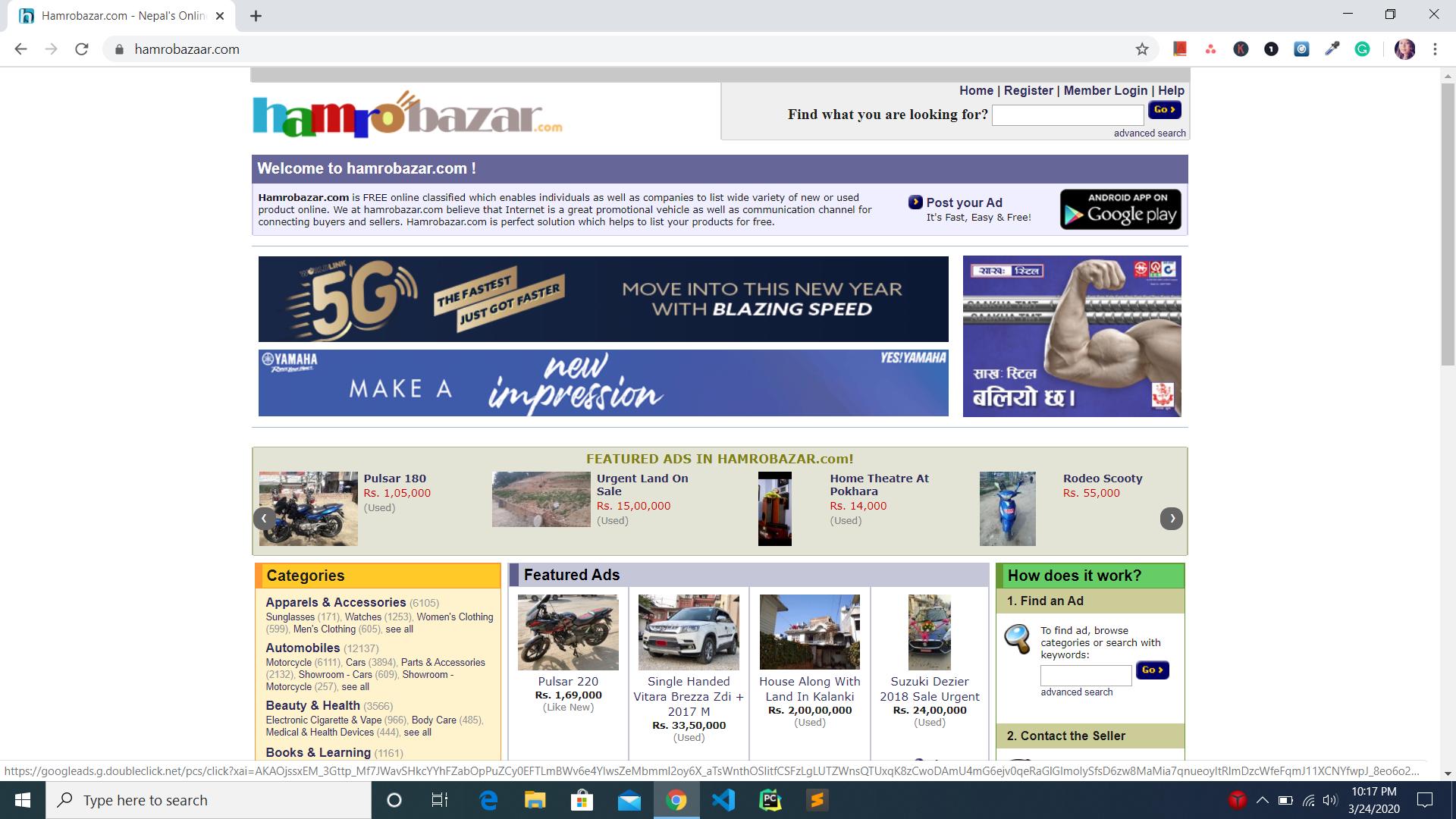 hamrobazzar online site