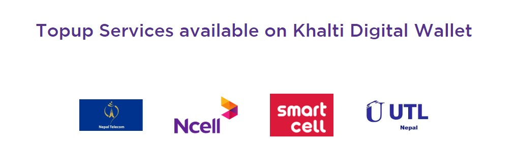 recharge online service by khalti