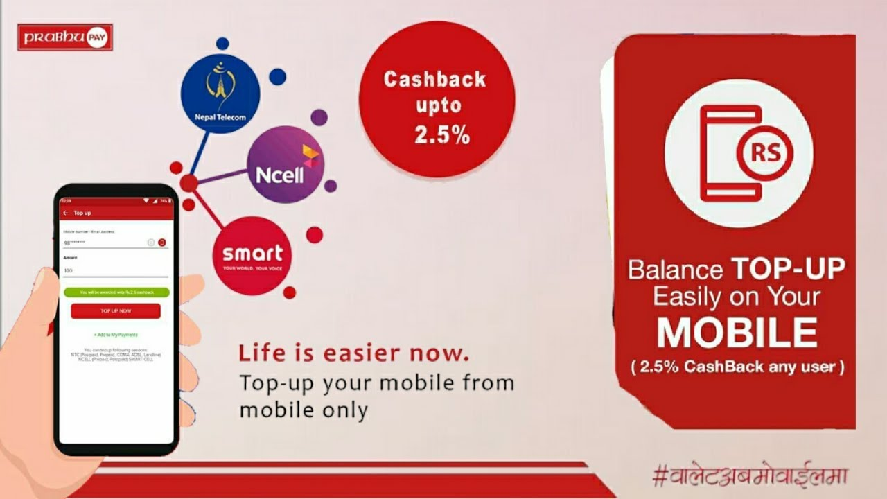 recharge online with prabhupay