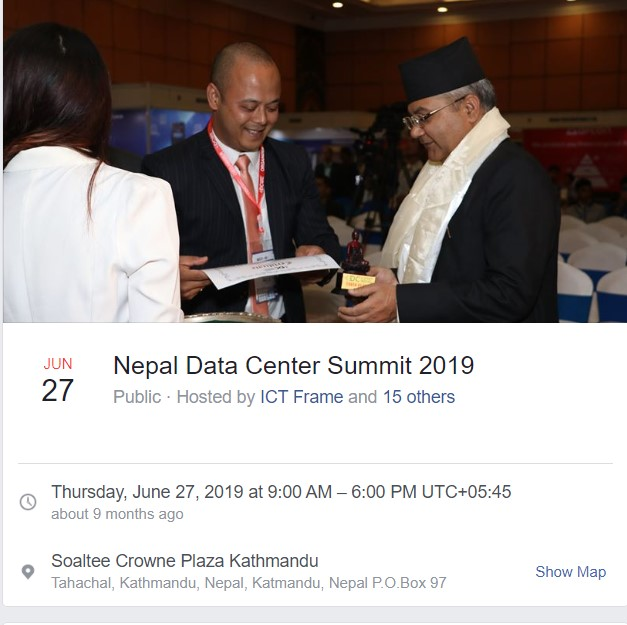 Tech Events of 2076 in Nepal