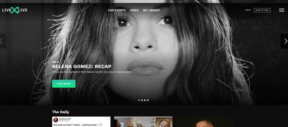 livexlive music site