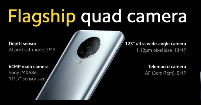 poco f2 pro quad camera