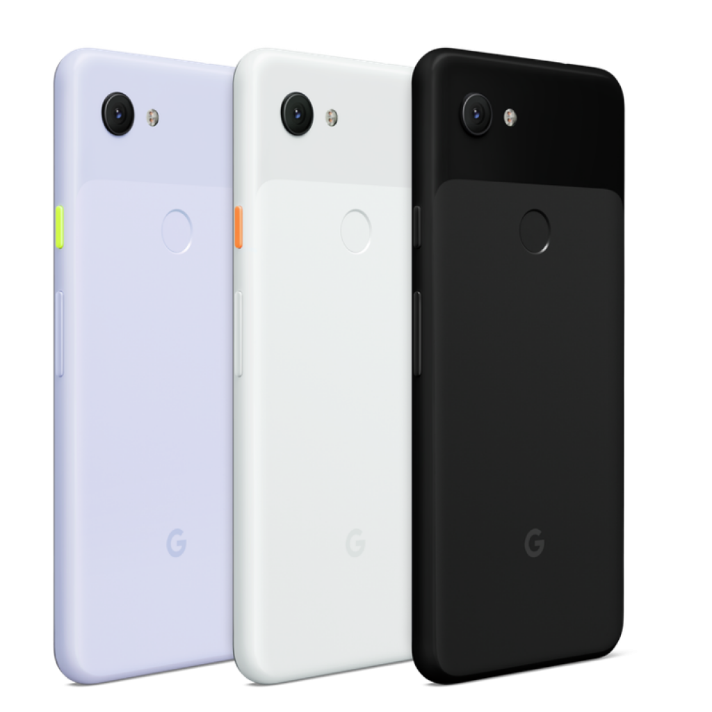 Colours available on Google pixel 3a
