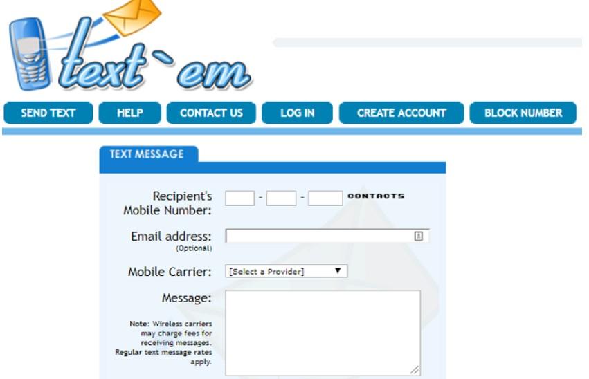 text em send free sms