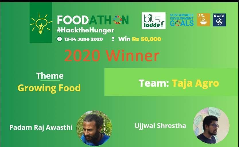 winner of Foodathon