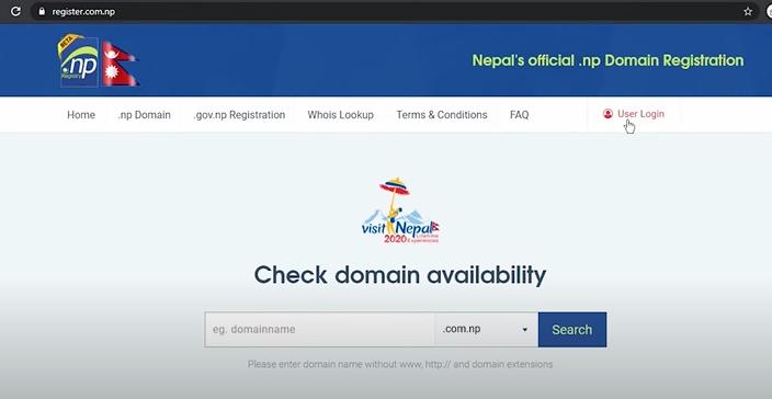 .np domain
