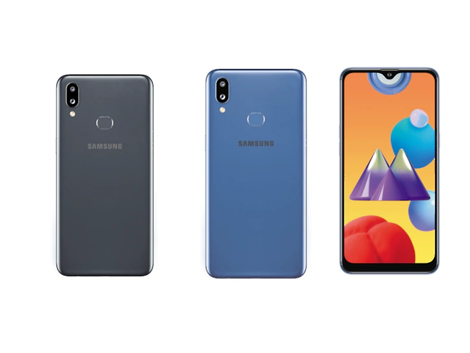 Color options of Galaxy M01s