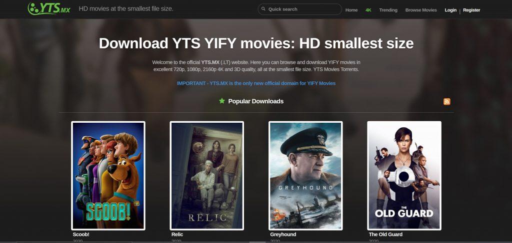 YTS Pirate Bay alternatives