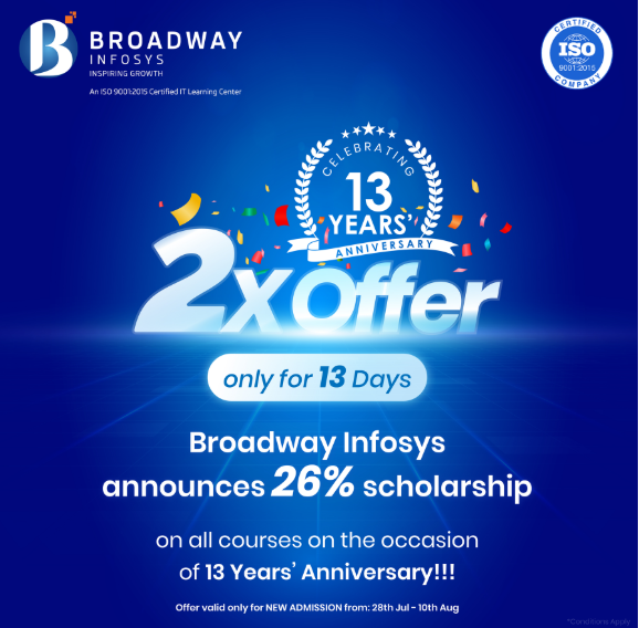 Broadway infosys new offer