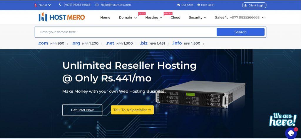 HostMero web hosting company