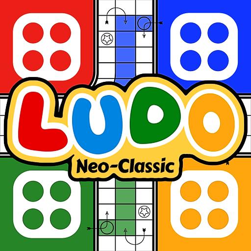 Ludo Neo-classic logo