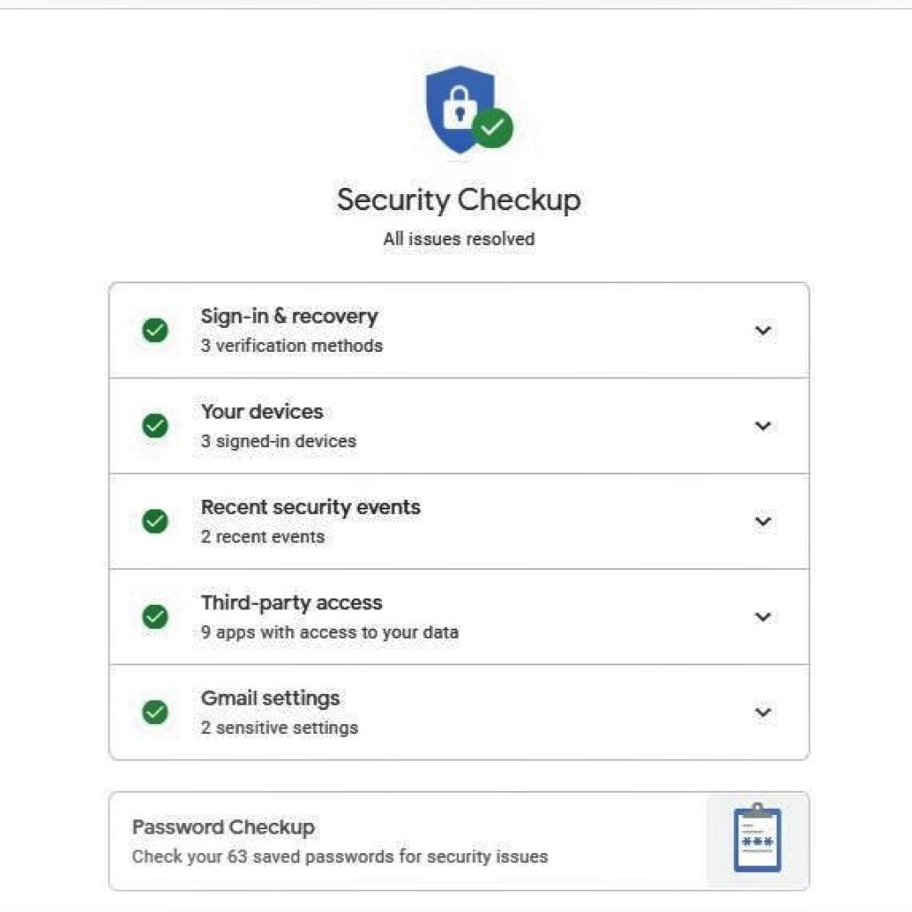 ways to secure your Google Account