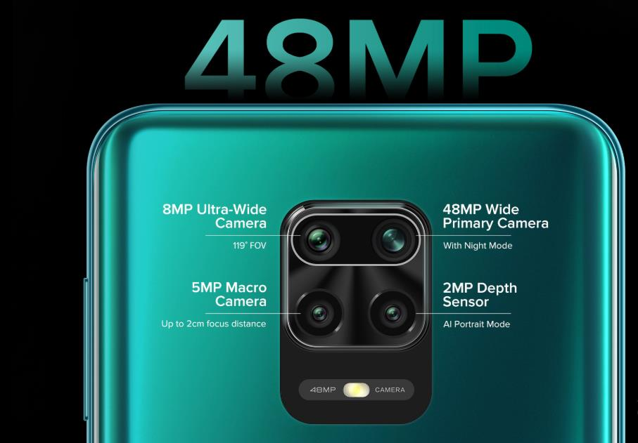 Camera of redmi Note 9 pro