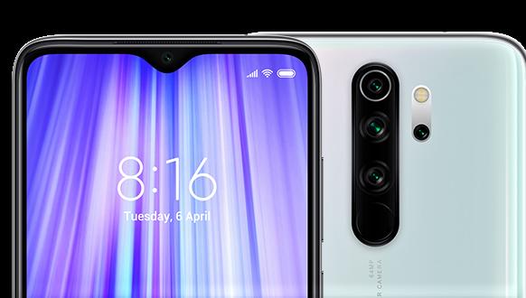 Note 8 pro camera