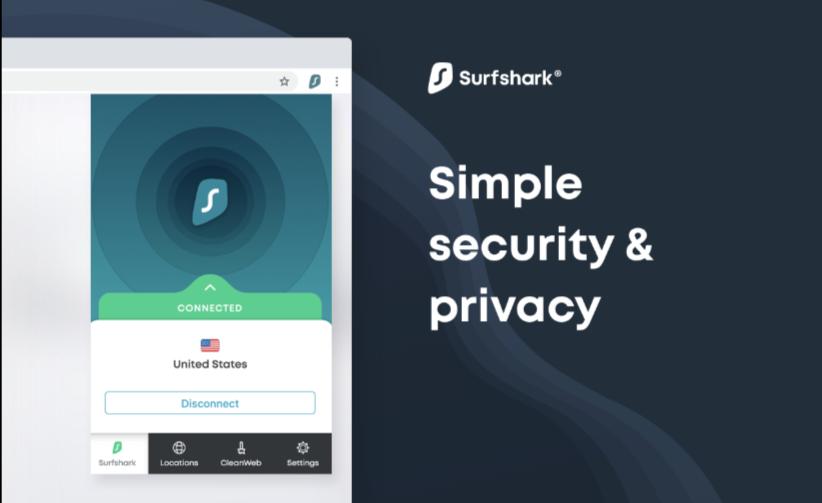 Surfshark Best VPN Firefox Extensions