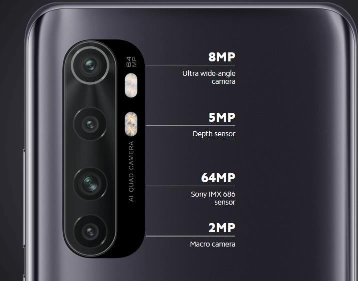camera of mi note 10 lite