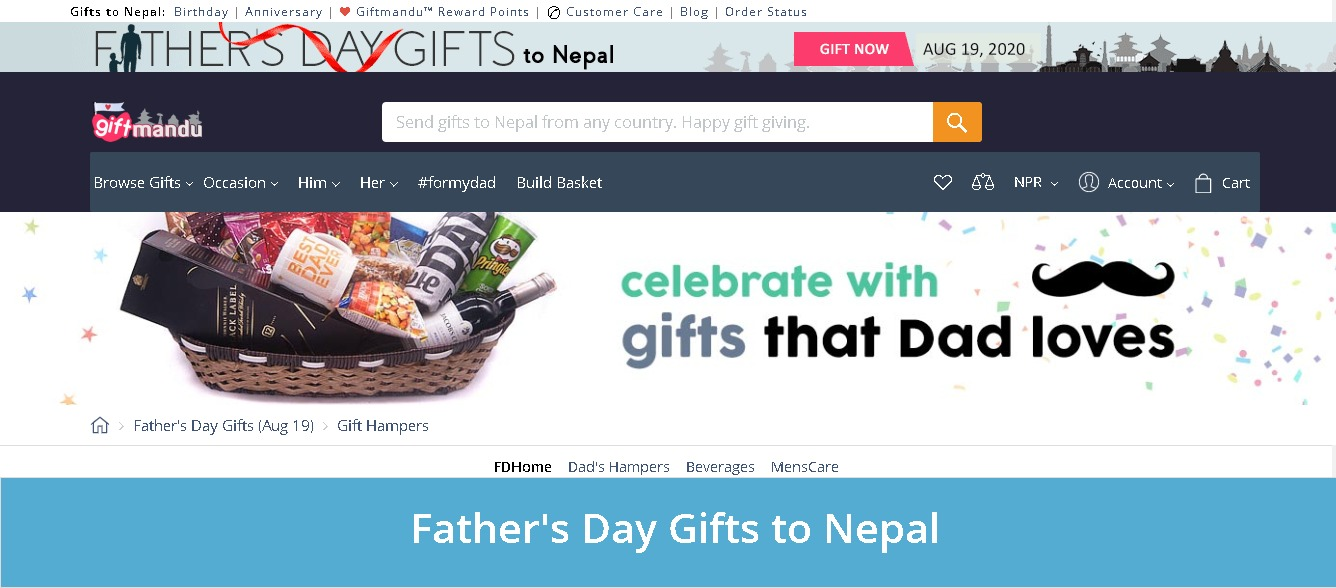 Giftmandu Father's Day special Online Delivery