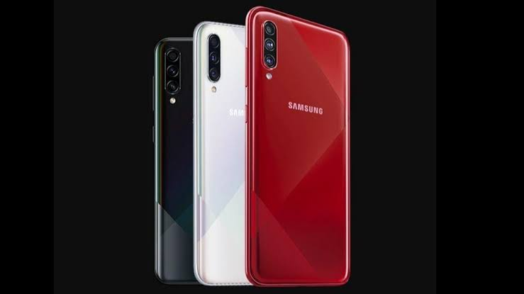 samsung galaxy A70s-colors