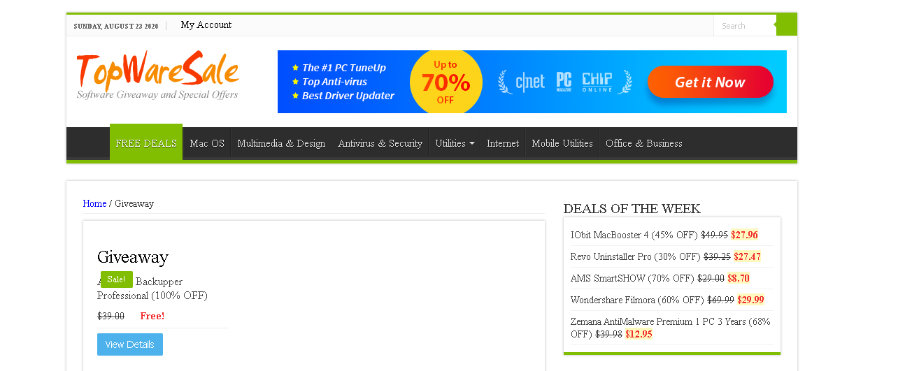 TopWareSale download Paid Software for free