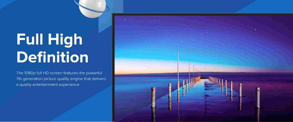 Xiaomi Mi TV 4A Pro display