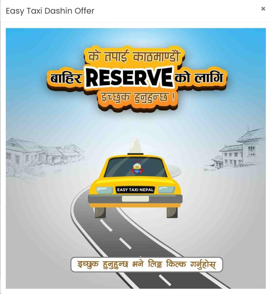Easy Taxi Dashain Offer