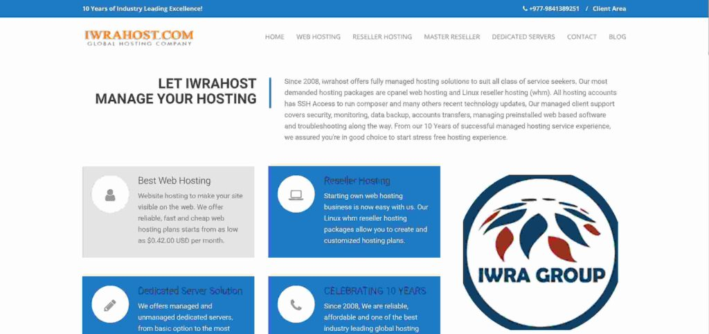 Iwra host