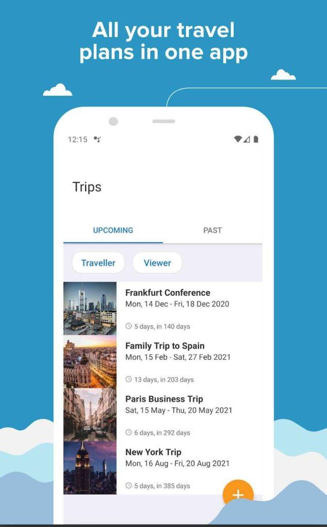 TripIt best travel app