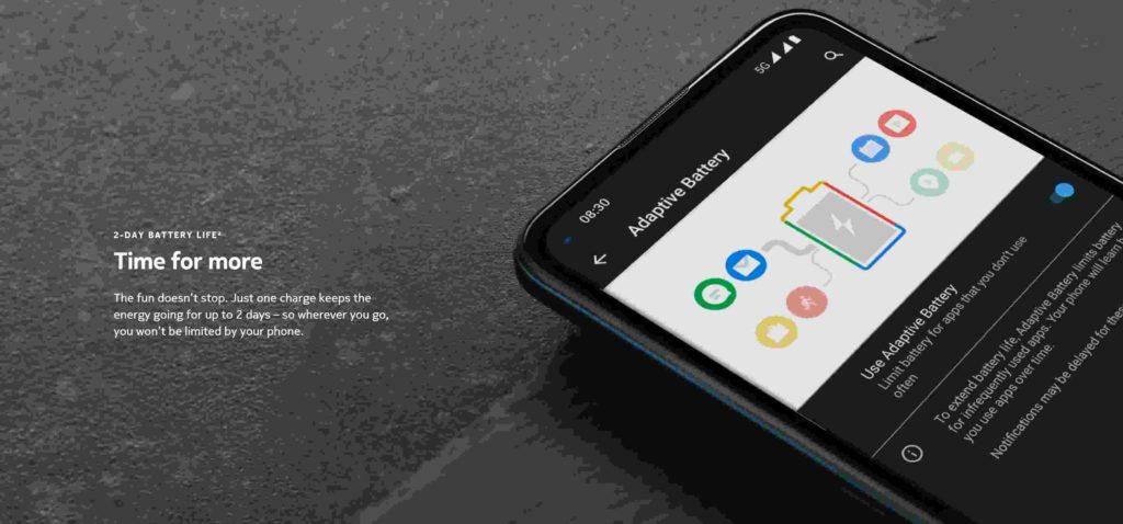Nokia 8.3 5G battery