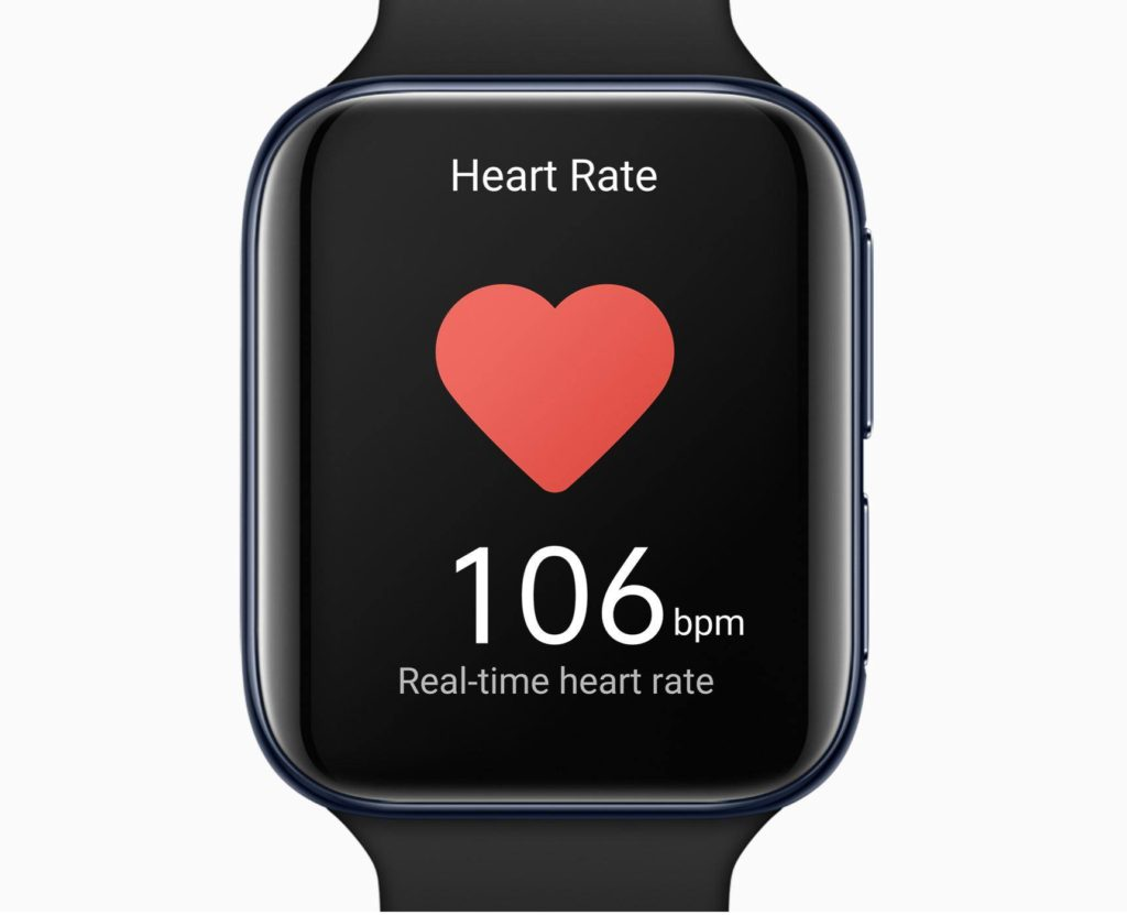 Oppo Watch Heart rate monitor