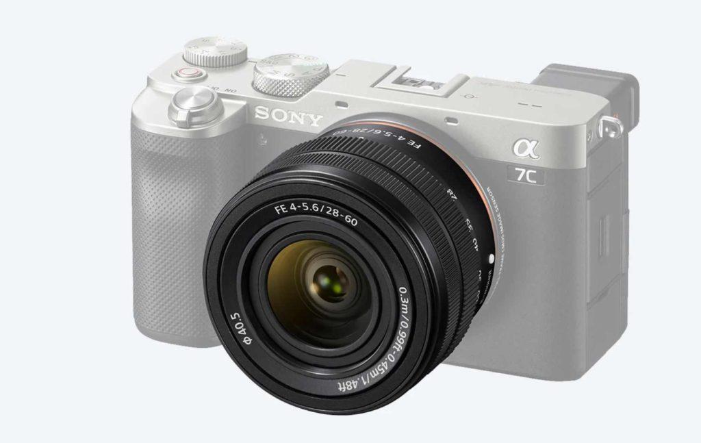 Sony Alpha 7C lens