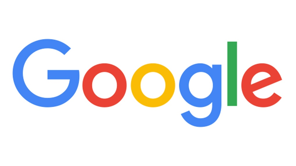 Search on google logo