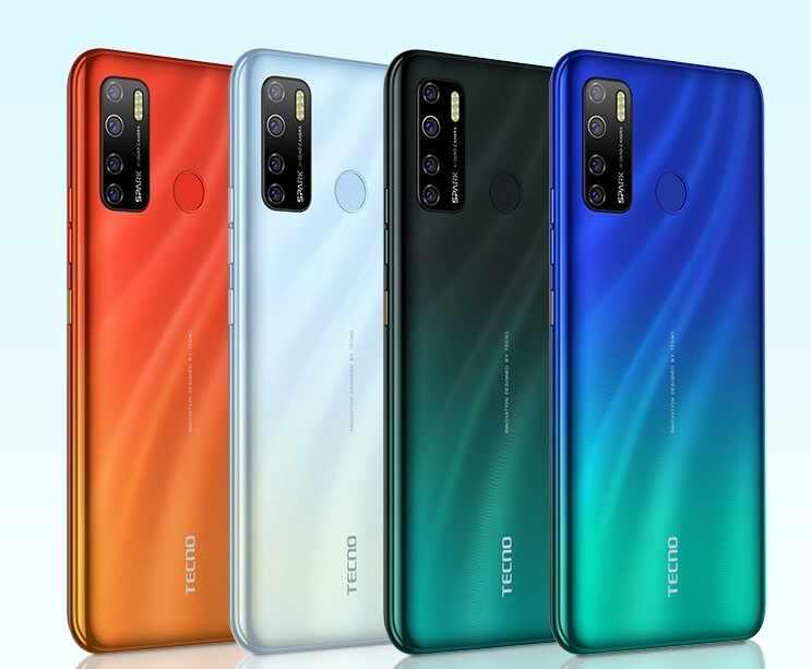 Spark 5 Pro  colors