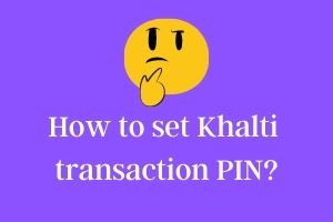 khalti user guide