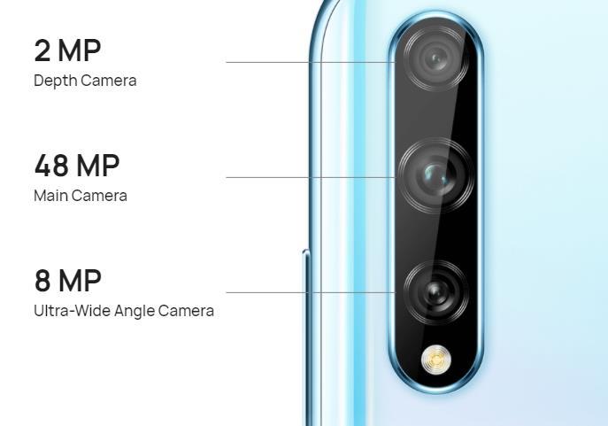 Huawei Y8p camera