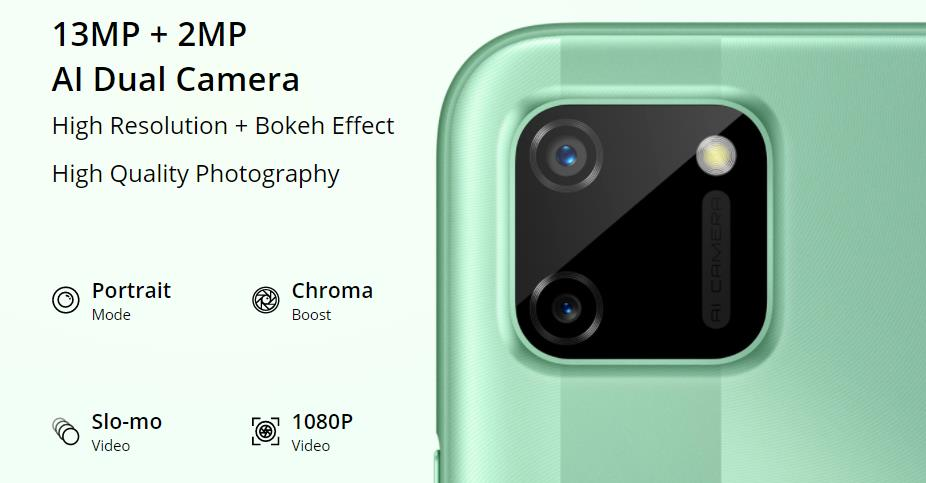 Realme C11 Camera
