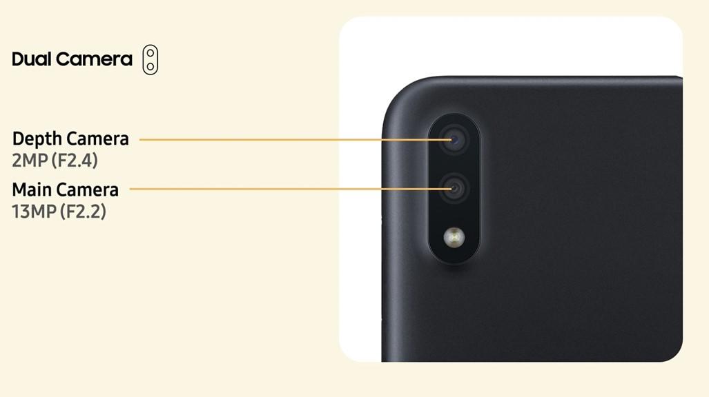 Galaxy M01 Camera