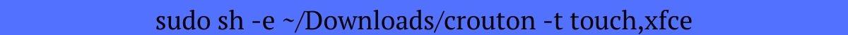 install linux on chromebooks