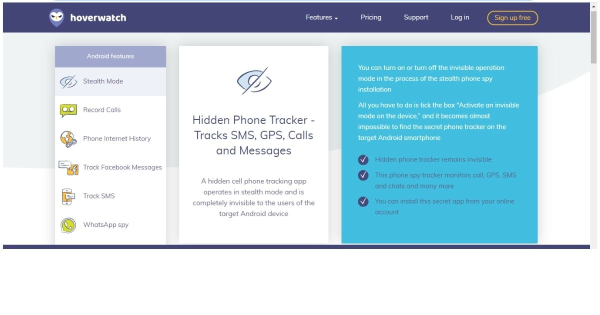 Free Mobile Tracker Softwares