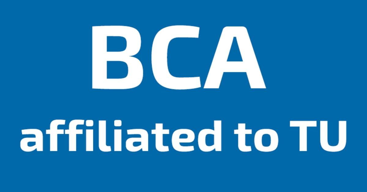 BCA colleges TU in Nepal