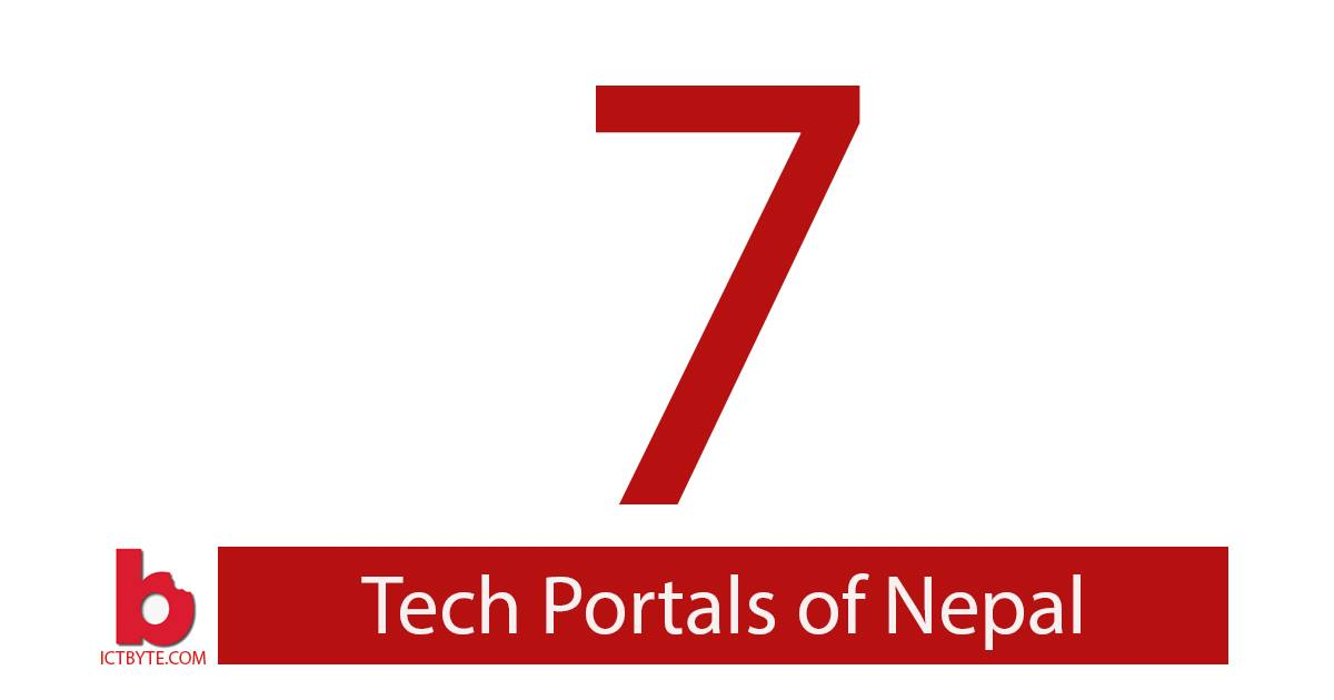 7 tech portals of nepal