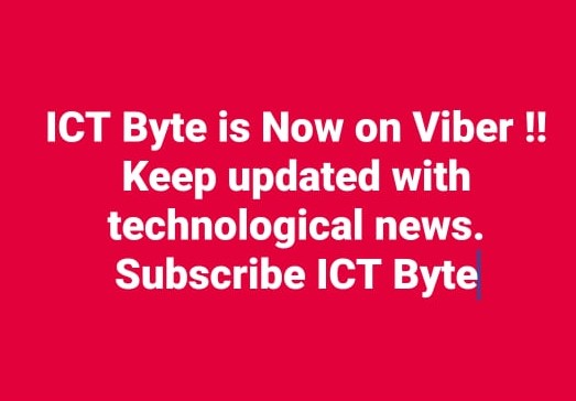 ICT Byte is now on Viber Community
