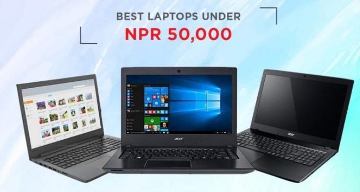 best laptop under 50k in Nepal 2020