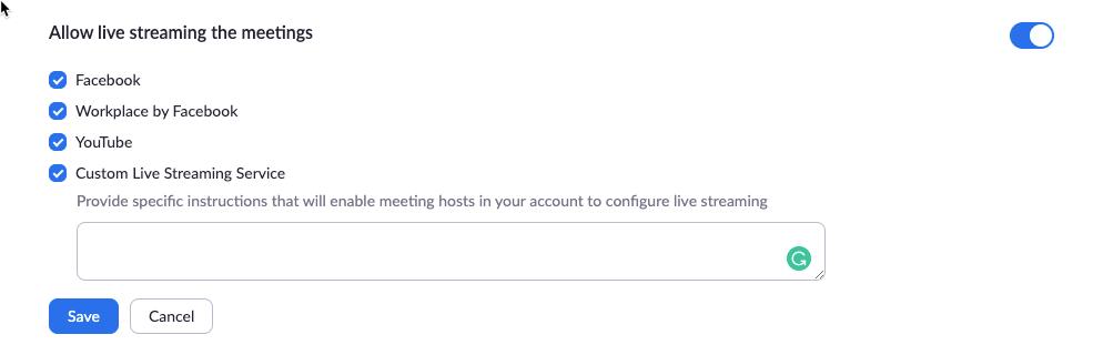 Live Streaming of ZOOM meetings and Webinars on Facebook ...