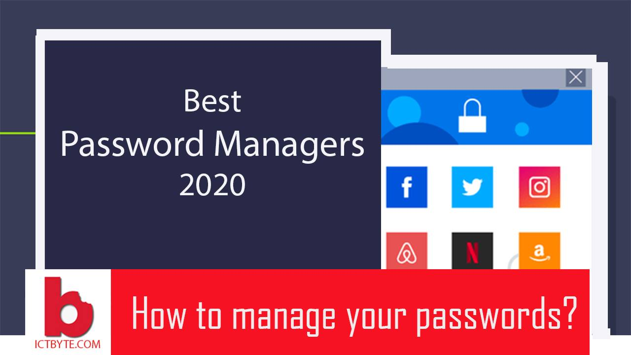 password manager 2020