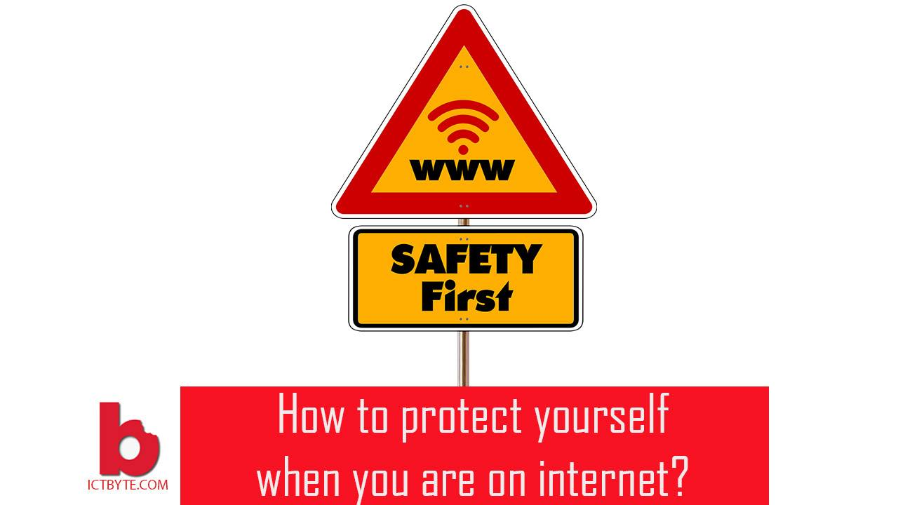 stay safe on internet online