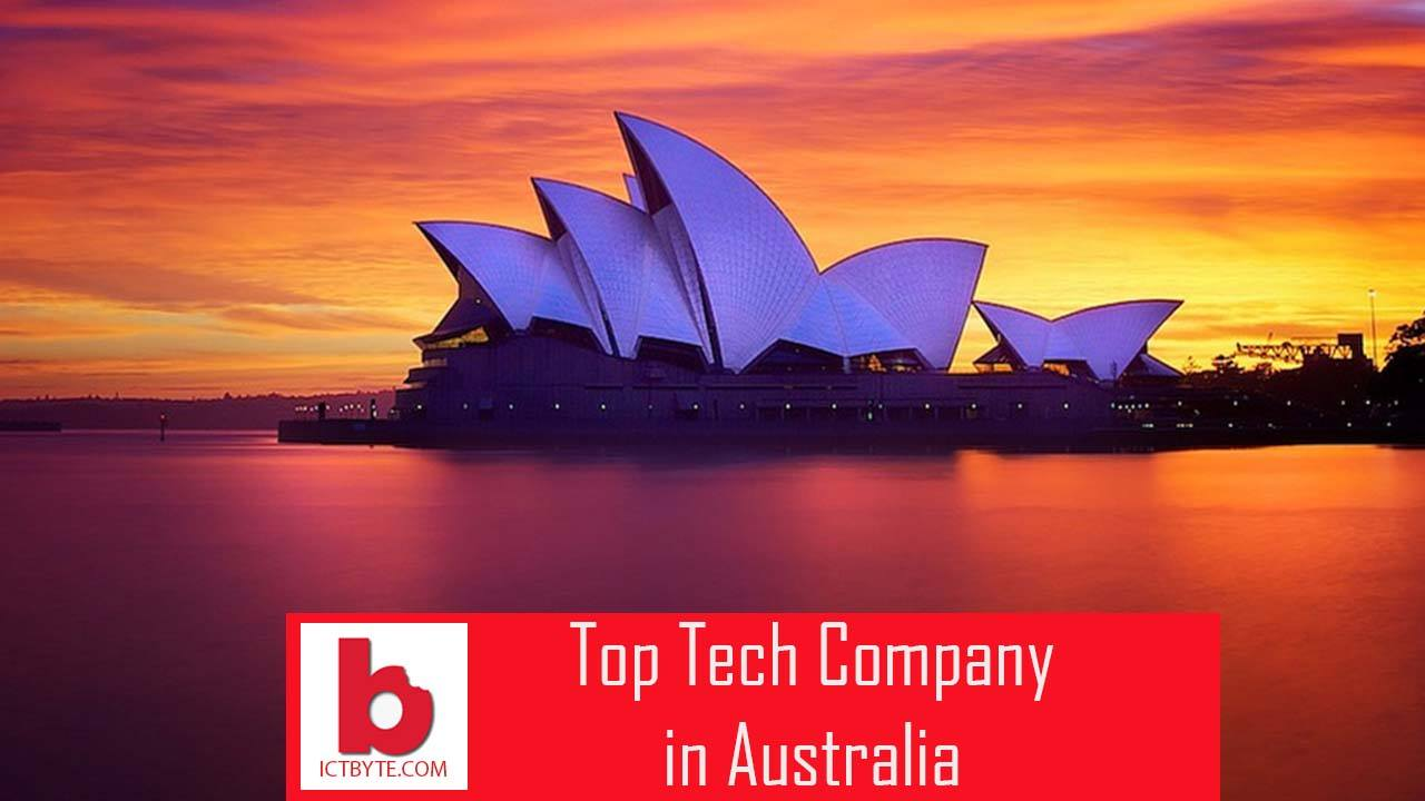 tech company in australia