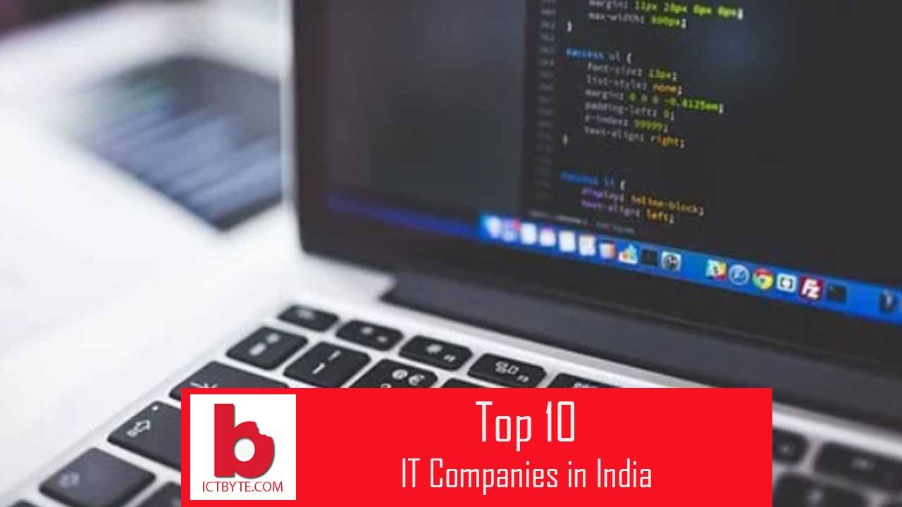 top 10 IT and software company in India