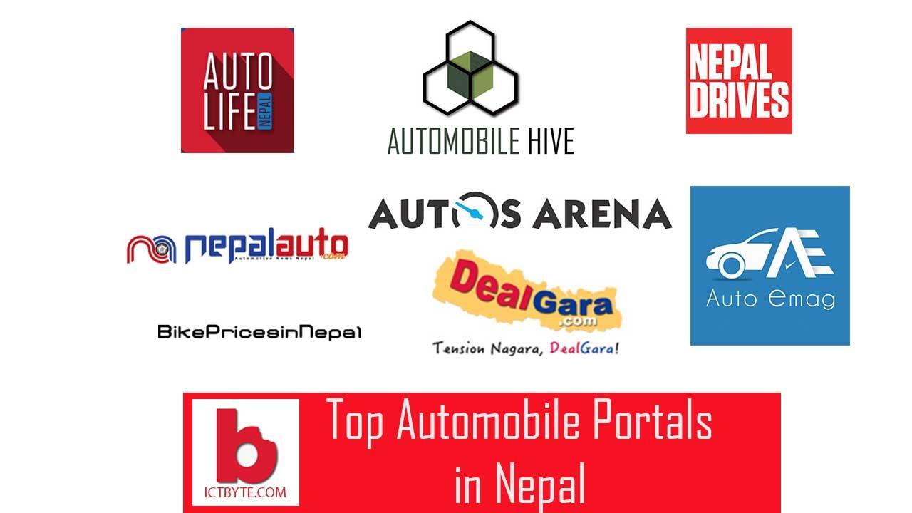 top automobile portals in Nepal
