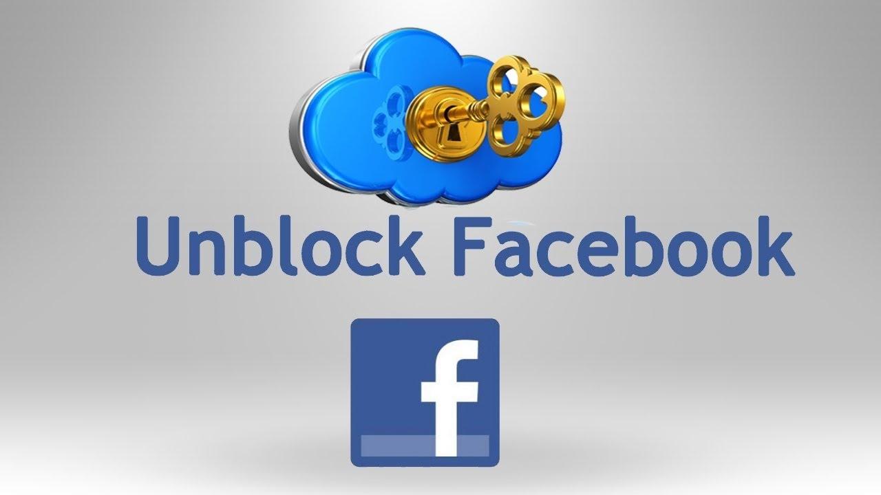 unblock domain on Facebook